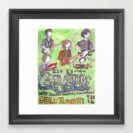 Greyspoke Poster - December 4, 2009 Framed Art Print
