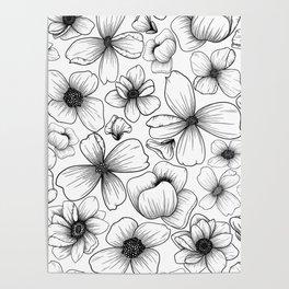 Floral Wallpaper: 1 Poster