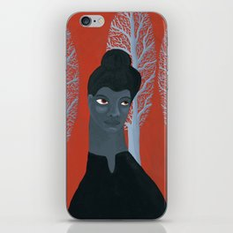 Ida B Wells portrait iPhone Skin