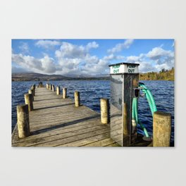 Windermere Jetty Canvas Print