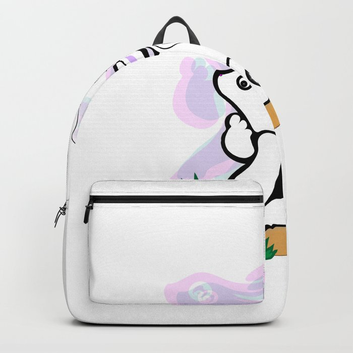 Cute Rabbit 2 Backpack