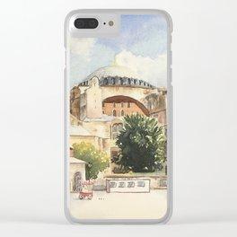 Hagia Sofia Clear iPhone Case