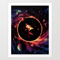 Escape From the Black Hole Art Print