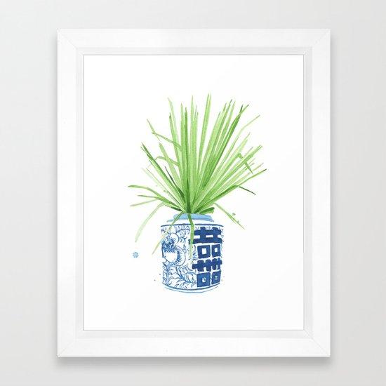 Ginger Jar + Fan Palm by theaestate