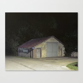 house by night Canvas Print