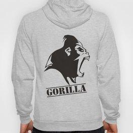 Angry Gorilla funny Hoody