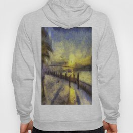 Bosphorus Sunset Van Gogh Hoody