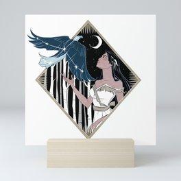 Pocahontas and Aquila Mini Art Print