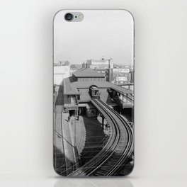 Dudley Station on the Boston Elevated Railway 1904 iPhone Skin