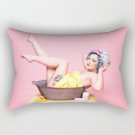 Lady Vintage Rectangular Pillow