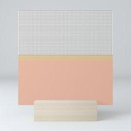 Grid 7 Mini Art Print