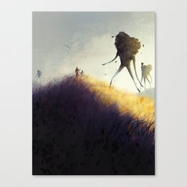 The Earth Giants Canvas Print