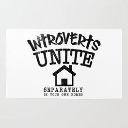 Introverts Unite! Rug