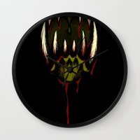 howl Wall Clocks featuring Howl by Jesse G.