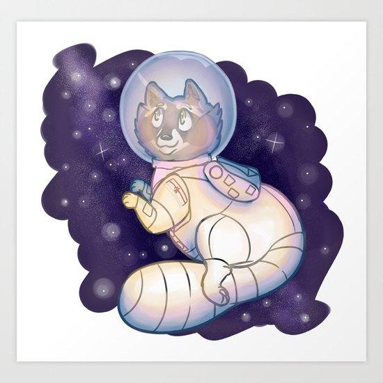 Space Bandit Art Print