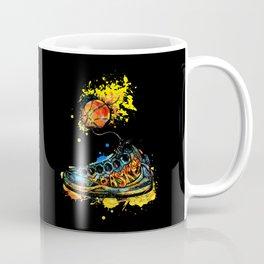 Basketball illustration Coffee Mug