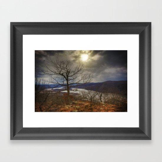 Hudson Highlands Framed Art Print