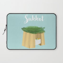 Warm Sukkot Booth of Togetherness and love Laptop Sleeve