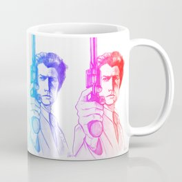Harry Callahan - Clint Eastwood Coffee Mug