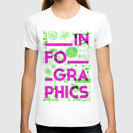 INFOGRAPHICS 2 T-shirt