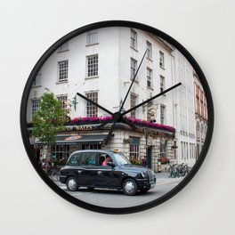 The Prince of Wales Pub - Doc Braham - All Rights Reserved. Wall Clock