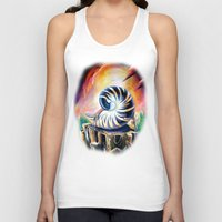 shell Tank Tops featuring Shell by Naushad Arts