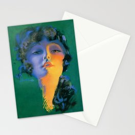 """Girl of My Dreams"" Pinup by Rolf Armstrong Stationery Cards"