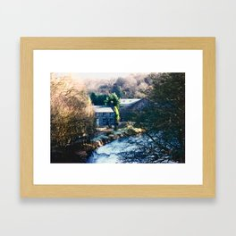 almost a painting Framed Art Print