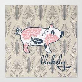blakely Canvas Print