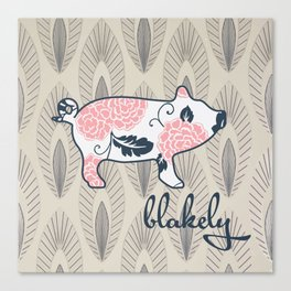 blakely Canvas Print