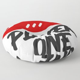 Player one  gift for players Floor Pillow