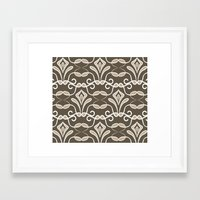 "art deco Framed Art Prints featuring ""Deco"" by Julia grifol designs"
