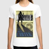agent carter T-shirts featuring Agent Carter Pop art by rnlaing