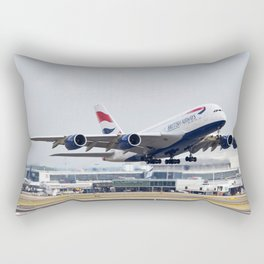 British Airways A380 Rectangular Pillow