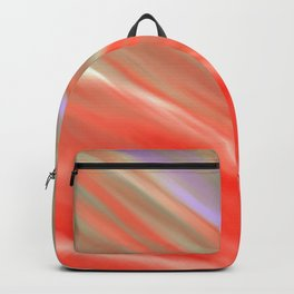 Crimson Aurora Backpack