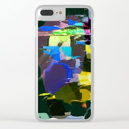Bright Shadows Clear iPhone Case