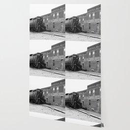 Train and Sherwood Hotel Wallpaper