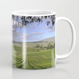 Stormy Day in the Vineyard Coffee Mug