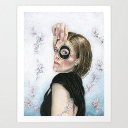 Lover's Eye Art Print