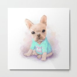 French Bull Dog Metal Print