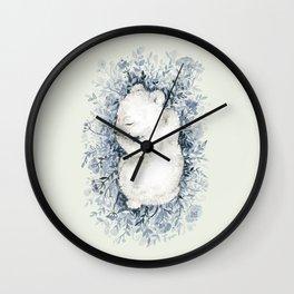 Polar Slumber Wall Clock