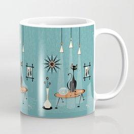 Mid Century Mishchief/ Cat Red Handed I Coffee Mug
