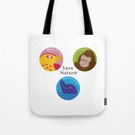 Save Nature Tote Bag