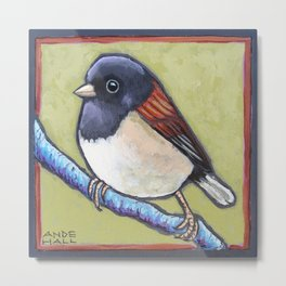 Junco B Metal Print