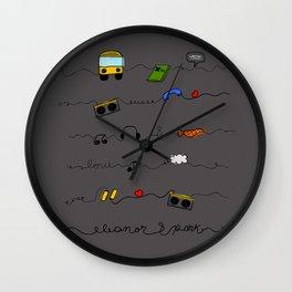 Eleanor&Park B Wall Clock