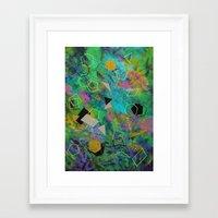 destiny Framed Art Prints featuring Destiny by Nika Akin
