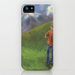 Kite Weather iPhone Case