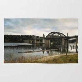 Siuslaw River Bridge Rug