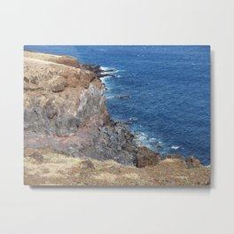 Maui, Hawaii Road to Hana, Cliff to Waters Edge Metal Print