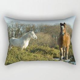 Beacon Horses Rectangular Pillow